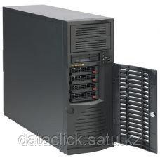 Сервер Tower 4U, 1xXeon E3-1200 v5/v6, 4xDDR4 UDIMM 2400, 4x3.5HDD, RAID 0,1,10,5, 2xGLAN, 500W