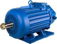 Электродвигатель MTKH 412-6 крановый трёхфазный асинхронный 30 кВт 945 об./мин.