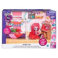 My Little Pony B8824 Май Литл Пони Equestria Girls Игровой набор мини-кукол Пижамная вечеринка, фото 1
