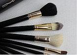 Набор кистей для макияжа MAC в тубусе, 9 шт, фото 3