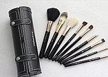 Набор кистей для макияжа MAC в тубусе, 9 шт, фото 2