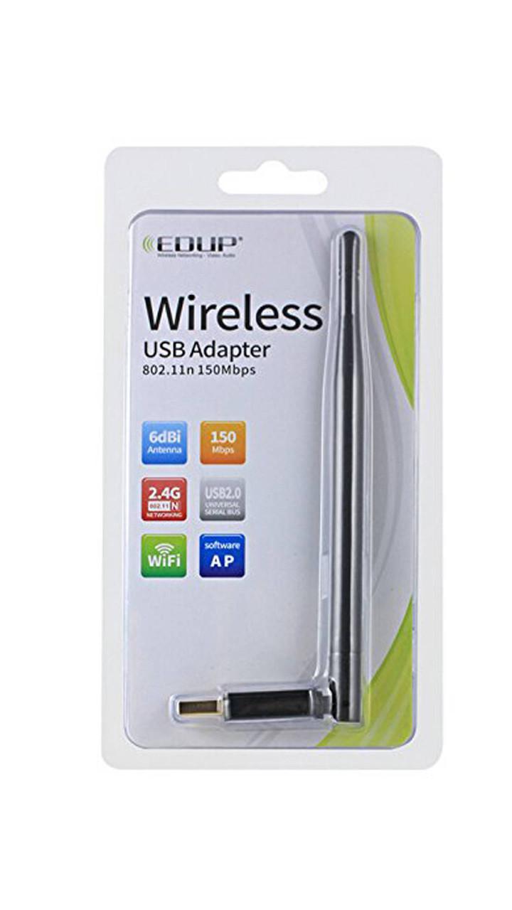 Беспроводной адаптер EDUP EP-MS8551 + антенна 5 Dbi