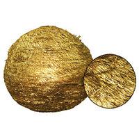 Еловый шар d0,70м золотистый