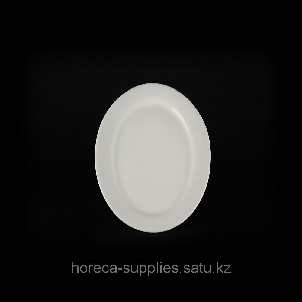 Блюдо овальное «Chan Wave» 350 мм [LQ-Q035]