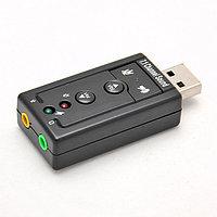 "Звуковая карта ""USB  Sound   Blaster  Support 3D  7.1 CH"""