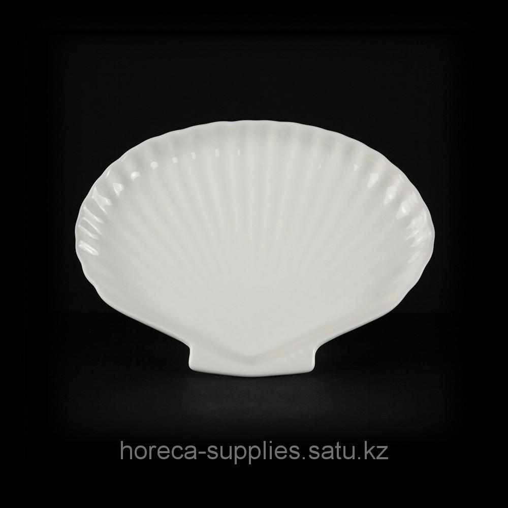 Блюдо раковина «Chan Wave» 200 мм [LQ-Q673]