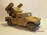 "Склеиваемая масштабная модель ЗРК ""Стингер"" на базе автомобиле ""Хаммер"", Zvezda, 1/35 (3576), фото 2"
