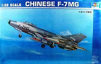 Склеиваемая масштабная модель Истребитель F-7MG, Trumpeter, 1/144