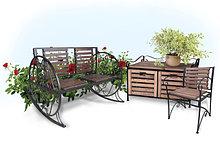 Садово-парковая мебель и оборудование
