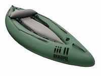 Одноместный надувной каяк Аккорд-1 для сплава или рыбалки, фото 1