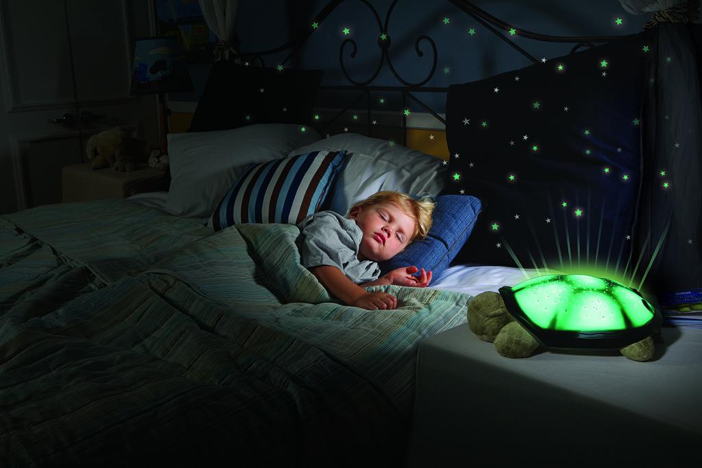Игрушка черепаха-проектор звездного неба