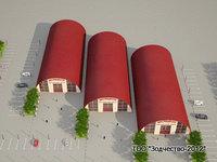 Строительство бескаркасных аро...