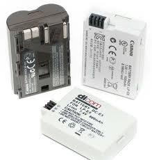 Аккумуляторы для видеокамер и фотоаппаратов