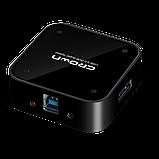 USB-хаб Crown CMU3-04 BLACK, фото 2