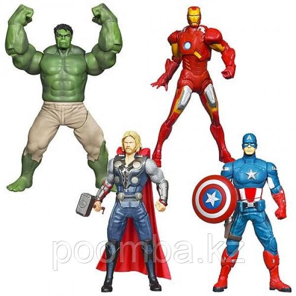 Боевые фигурки Мстителей, 15 см / AVN Mighty Brawlers ast Kid Feature / МСТИТЕЛИ