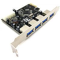 """Контроллер """"PCIe Controller  USB 3.0   4 Port  кор-100шт"""""""