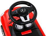 Толокар машинка Mercedes-Benz SLS AMG (Красный), фото 4