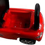 Толокар машинка Mercedes-Benz SLS AMG (Красный), фото 5
