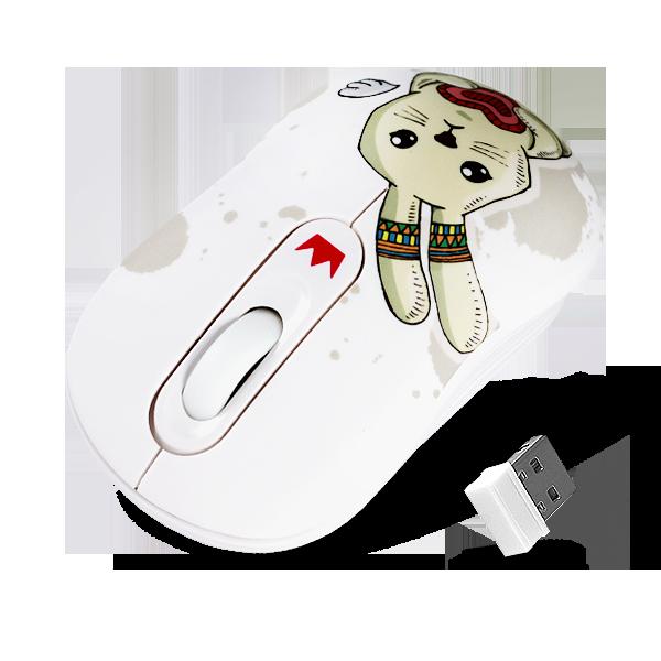 Беспроводная мышь Crown CMM-928W Rabbit