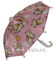 Зонтик для декора розовый (для праздника)