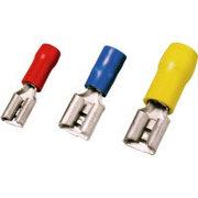 Плоский кабельный наконечник, розеточная часть