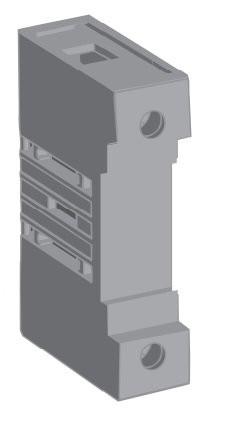 1SCA105457R1001 Дополнительный полюс OTPN80FP (клемма N - стационарная нейтраль) для рубильников OT63..80F3