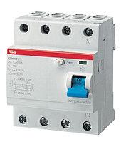 2CSF204001R1400 Выключатель дифференциального тока 4 мод. F204 AC-40/0,03