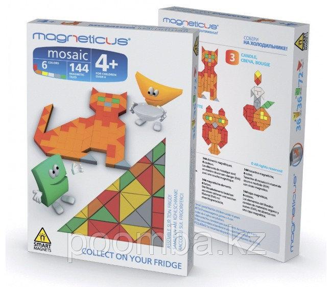 """Магнитная мозаика """"Кошка"""", 144 элементов"""