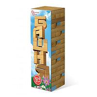 Башня. 54 элемента. Настольная игра. Нескучные игры.