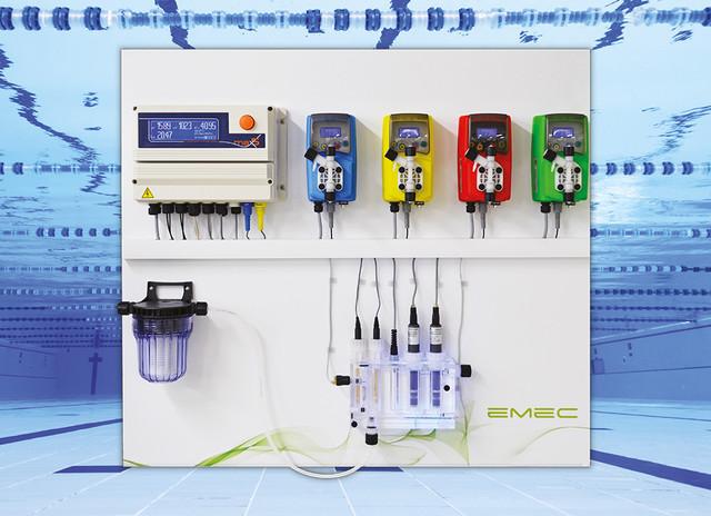 Автоматические станции контроля и дозирования химических реагентов