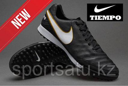 Сороконожки Nike Tiempo Genio II TF Black White