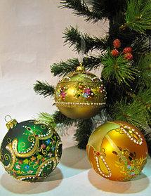Новогодние украшения и игрушки