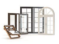 Алюминиевые окна с декоративной раскладкой