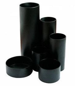 Органайзер Радиус черный  В147*Д140мм