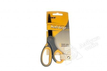 Ножницы 14см, ручки  оранжевые/серые Laco