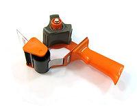 Держатель для скотча 48мм, с ручкой, оранжевый KLL
