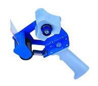 Держатель для скотча 48мм, с ручкой, синий KLL