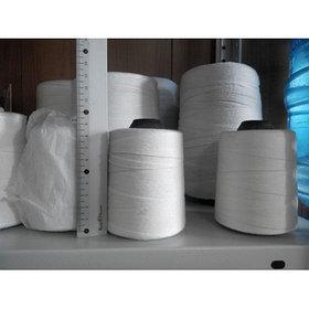Нить для сшивания документов, мешков, 200 гр, белая, хб