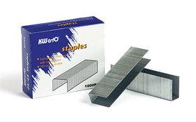 Скобы для степлера №23/10, 50-70л, 1000шт, оцинкованные  KW-trio