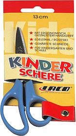 Ножницы 13см, детские, ручки желтые Laco