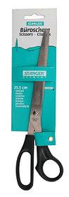 Ножницы 25.5см, ручки черные Stanger