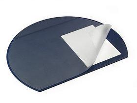 Покрытие настольное 52х65см, синее, с прозрачным верхом Durable