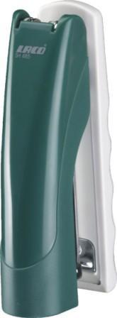 Степлер №24/6-26/6, 1-25л, пластик, зеленый Laco