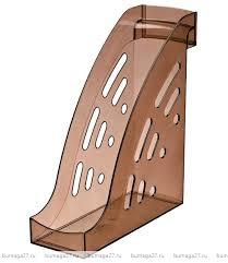 Лоток вертикальный ТОРНАДО тонированный коричневый, ширина 9.5 см, СТАММ