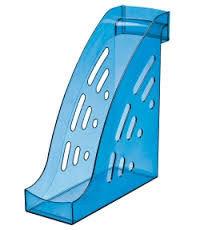 Лоток вертикальный ТОРНАДО синий INDIGO, ширина 9.5 см, СТАММ
