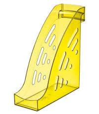 Лоток вертикальный ТОРНАДО желтый YELLOW, ширина 9.5 см, СТАММ
