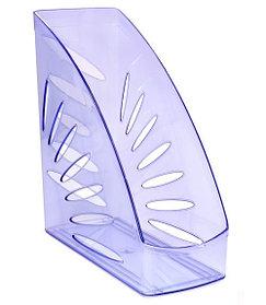 Лоток вертикальный ТРОПИК тонированный голубой, ширина 11 см, СТАММ