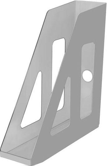 Лоток вертикальный АКТИВ серый, ширина 7 см, СТАММ