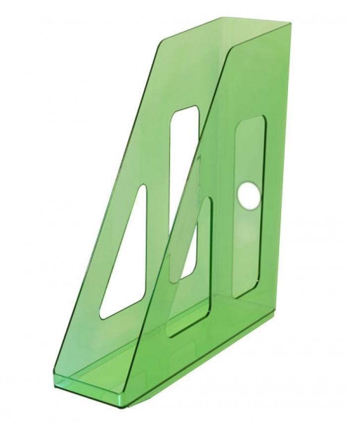 Лоток вертикальный АКТИВ зеленый GREEN, ширина 7 см, СТАММ