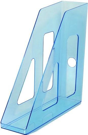 Лоток вертикальный АКТИВ синий INDIGO, ширина 7 см, СТАММ